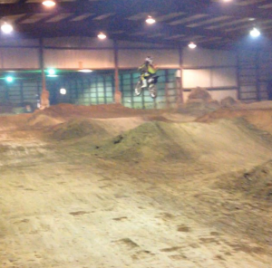 Zane Davidson Circle-T indoor Mx